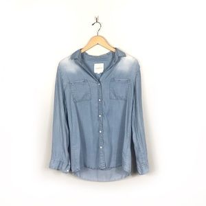 Thread & Supply Button Up Chambray Long Sleeve